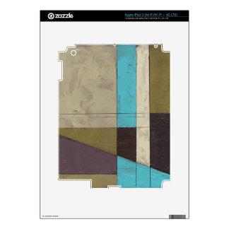 Pintura minimalista de Contemporay con color Pegatina Skin Para iPad 3