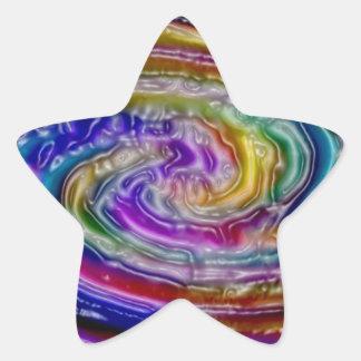 pintura moderna del extracto del hogar de la colcomanias forma de estrella