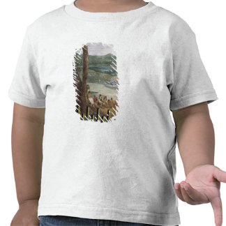 Pintura mural de Drakelowe Pasillo, nr. Burton enc Camisetas