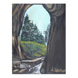 Pintura natural del puente de Aisha Waller Tarjetas Postales