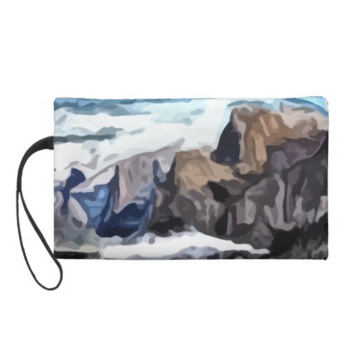 Pintura nublada del valle