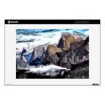 Pintura nublada del valle calcomanías para 33cm portátiles
