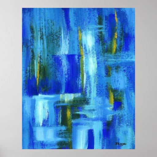 Pintura original de la impresión del arte abstract posters
