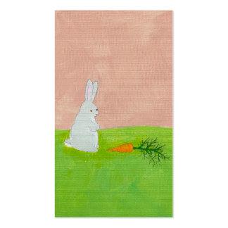 Pintura original del arte de la diversión linda de plantillas de tarjetas de visita
