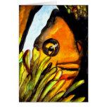Pintura original del arte del payaso de la acuarel