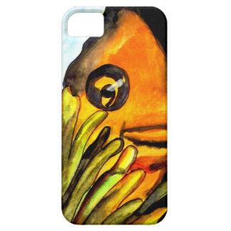 Pintura original del arte del payaso de la iPhone 5 Case-Mate protectores
