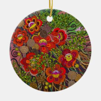 Pintura original Robusta del Shorea por Gwolly Ornamentos Para Reyes Magos