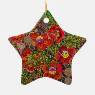 Pintura original Robusta del Shorea por Gwolly Ornaments Para Arbol De Navidad