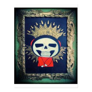 Pintura ortodoxa del dibujo animado del icono reli tarjeta postal