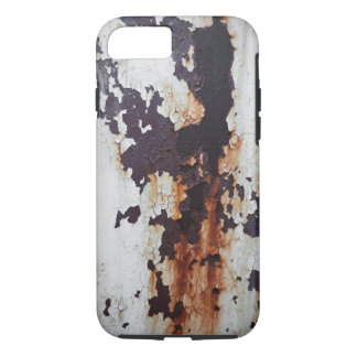 Pintura oxidada de la peladura funda iPhone 7
