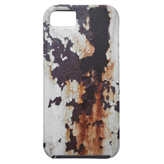 Pintura oxidada de la peladura iPhone 5 carcasas
