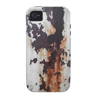 Pintura oxidada de la peladura vibe iPhone 4 carcasa
