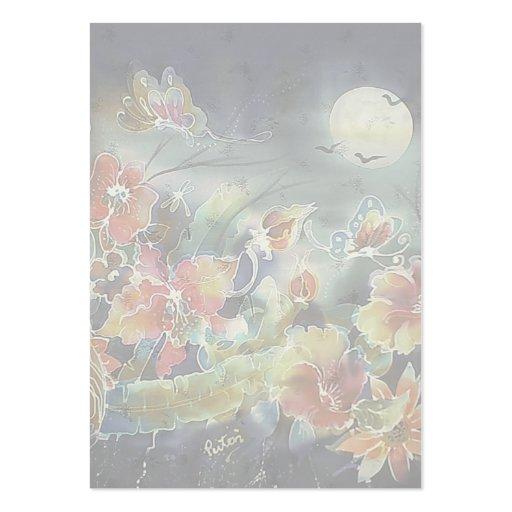 Pintura preciosa del jardín de la noche