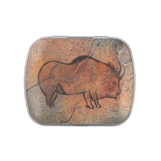 Pintura prehistórica frascos de caramelos