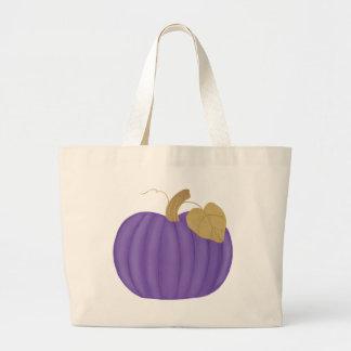 Pintura púrpura de la calabaza las bolsas de asas