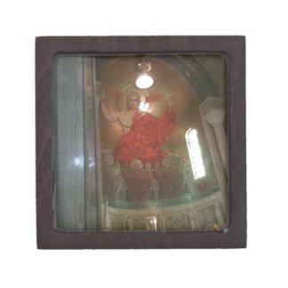 Pintura religiosa de la catedral caja de joyas de calidad