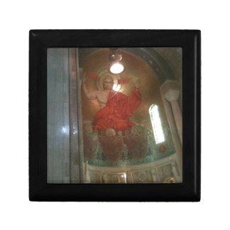 Pintura religiosa de la catedral caja de regalo