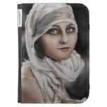 Pintura retra de la mujer de Potrait del vintage c
