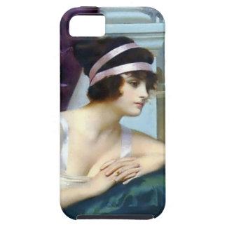 Pintura romana de Colosseum de la mujer iPhone 5 Case-Mate Protectores