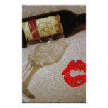 Pintura romántica del vino del amor de I Papeleria