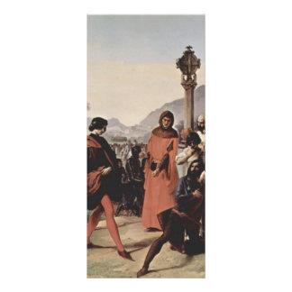 Pintura siciliana de las tardes de Francisco Hayez Lonas