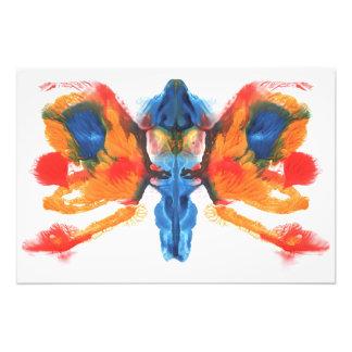 Pintura simétrica abstracta fotografía