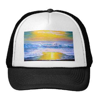 Pintura soleada del paisaje marino por Mazz Gorras