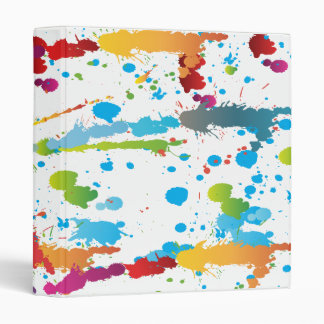 pintura splatter-01 del arco iris
