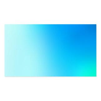 Pintura suave de la luz de la turquesa plantillas de tarjetas personales