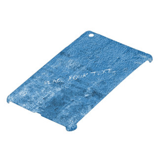 Pintura sucia azul
