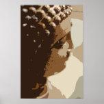 Pintura tailandesa original de Buda Impresiones