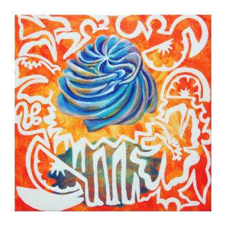 Pintura tropical de la magdalena de la tentación impresion de lienzo