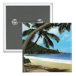 Pintura tropical de la playa