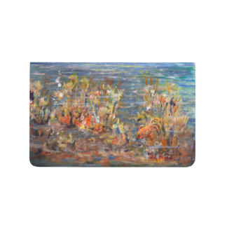Pintura tropical del acuario de los pescados del cuaderno