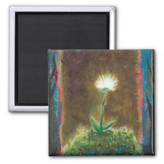 Pintura única del arte del poder de la esperanza d imán de nevera