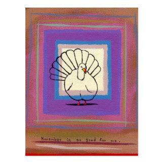 Pintura única del arte moderno tom del pájaro gran tarjetas postales