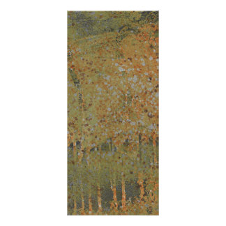 pintura verde agrietada oxidada tarjeta publicitaria