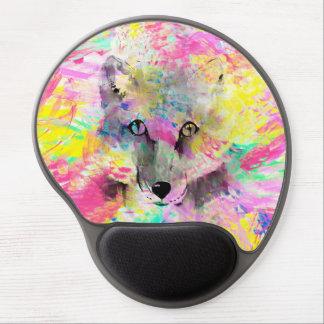 Pintura vibrante colorida de moda fresca del alfombrillas de raton con gel
