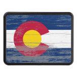 Pintura vieja de la bandera de Colorado Tapas De Remolque