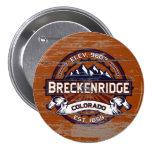 Pintura vieja vibrante de Breckenridge Pin Redondo 7 Cm