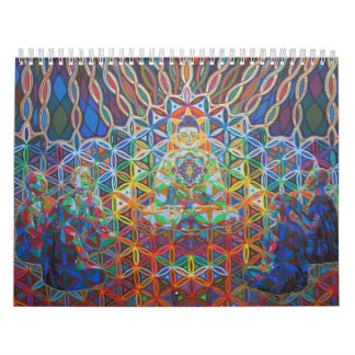 Pinturas de acrílico de Karmym Calendario