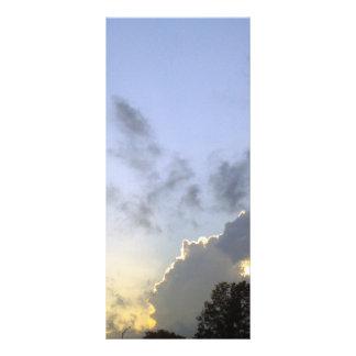 Pinturas de DIOSES en las nubes Lona Publicitaria