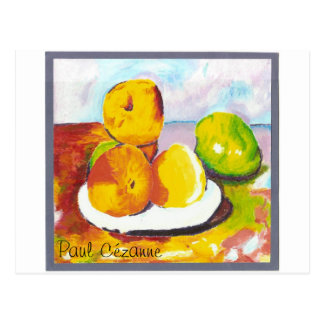 Pinturas de la fruta postal