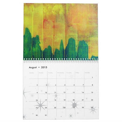Pinturas de la paleta 2010 series calendario