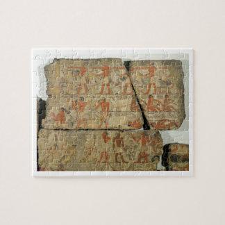 Pinturas de la tumba de Metjetji de Saqqara Puzzle