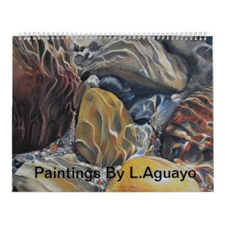 Pinturas de Lorenzo Aguayo Calendario