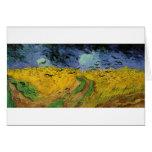 Pinturas de Van Gogh: Campo de trigo de Van Gogh Tarjetón