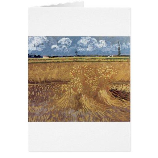 Pinturas de Van Gogh: Campo de trigo de Van Gogh Tarjeta