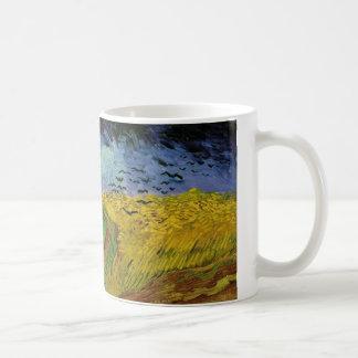 Pinturas de Van Gogh: Campo de trigo de Van Gogh Taza Clásica