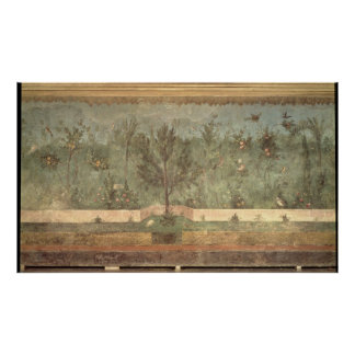 Pinturas del jardín del 'chalet de Livia Poster